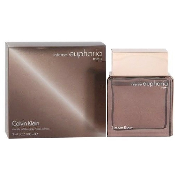 Euphoria Intense Cologne by Calvin Klein 3.4oz Eau De Toilette spray for Men