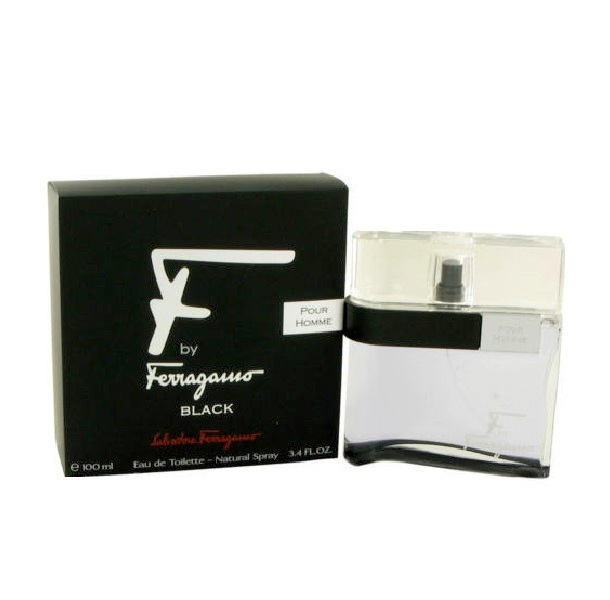 F Ferragamo Black Cologne by Salvatore Ferragamo 3.4oz Eau De Toilette spray for Men