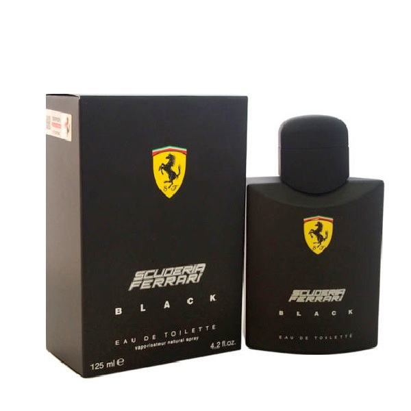 Ferrari Black Cologne by Ferrari 4.2oz Eau De Toilette spray for men