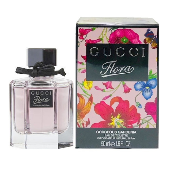 Flora Gorgeous Gardenia Perfume by Gucci 1.6oz Eau De Toilette spray for women
