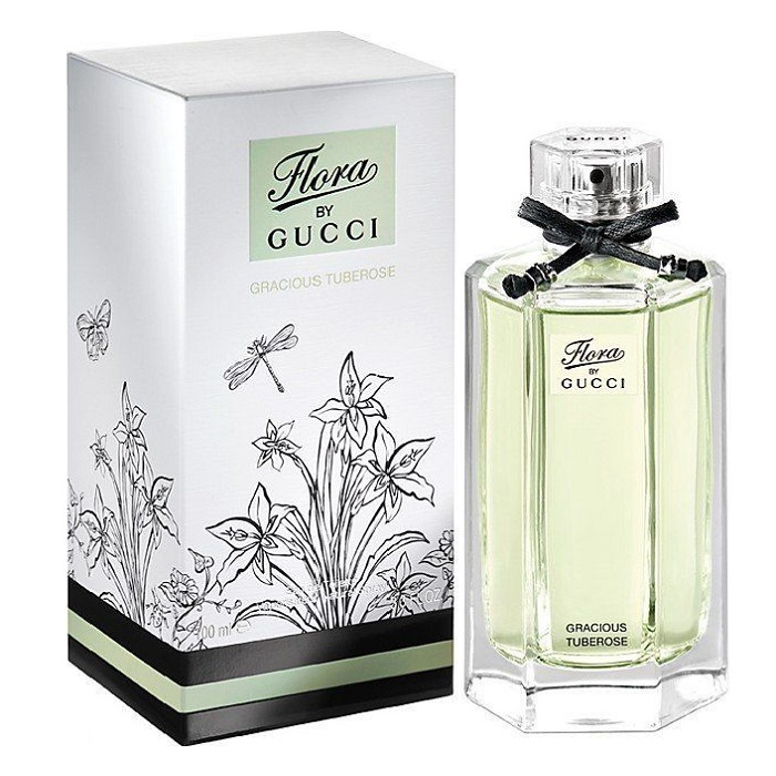 Flora Gracious Tuberose Perfume by Gucci 3.3oz Eau De Toilette spray for women