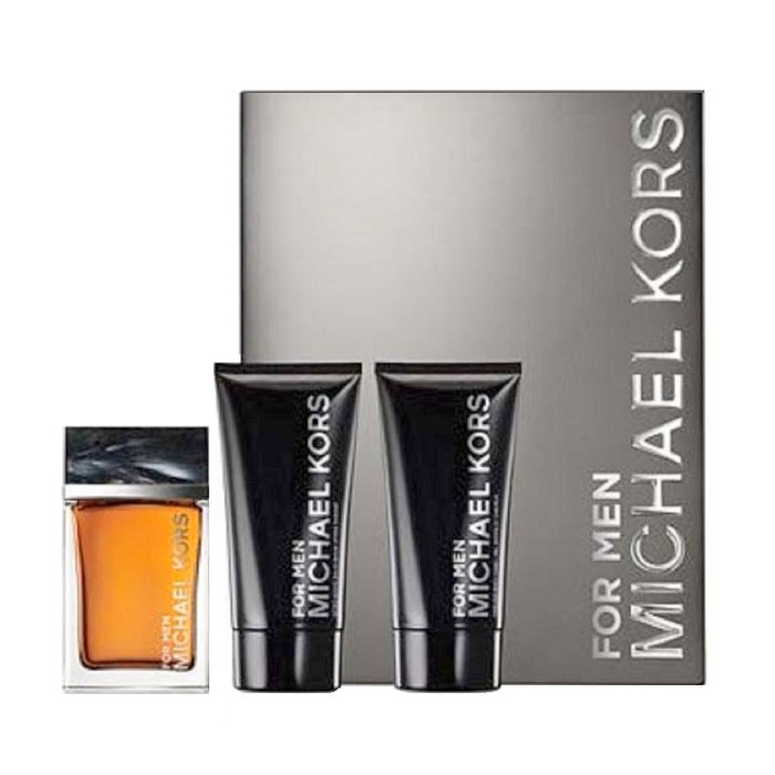 For Men Michael Kors Gift Sets - 4.0 oz Eau De Toilette spray, 2.5oz After Shave Balm, & 2.5oz Shower Gel