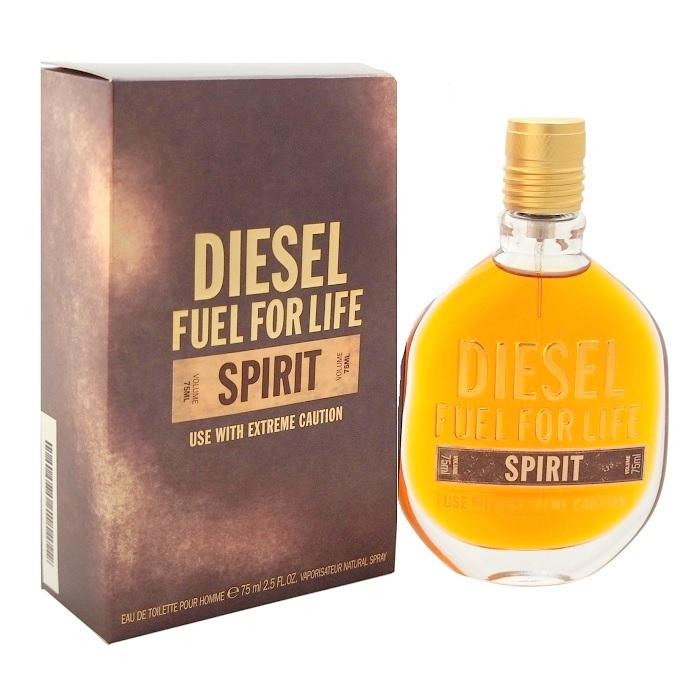 Fuel For Life Spirit Cologne by Diesel 2.5oz Eau De Toilette spray for Men