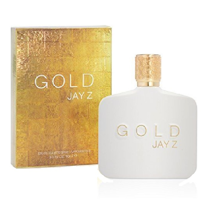 Gold Jay Z Cologne by Jay-Z 3.0oz Eau De Toilette spray for men