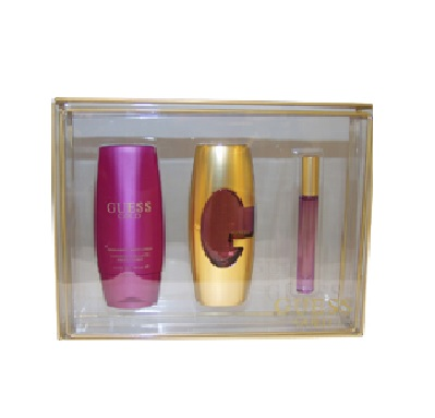 Guess Gold Perfume Gift Set By Guess For Women