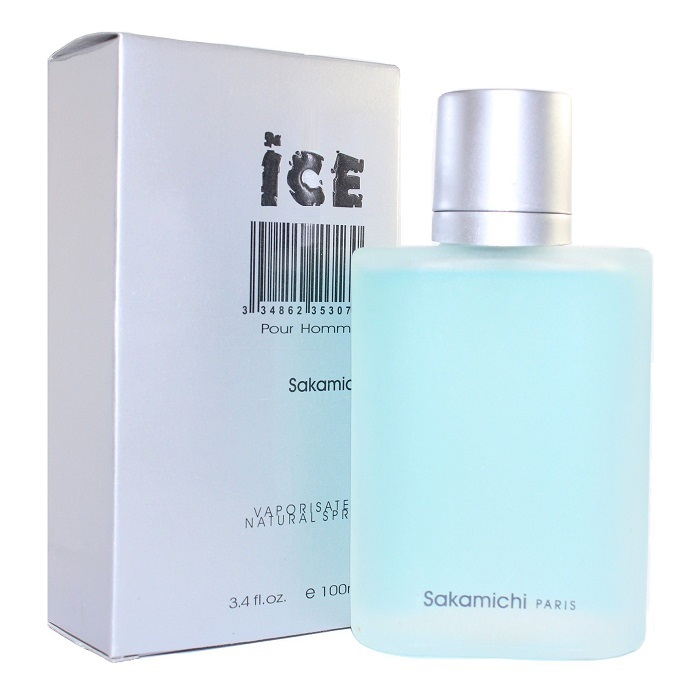 Ice Cologne by Sakamichi 3.4oz Cologne spray for Men