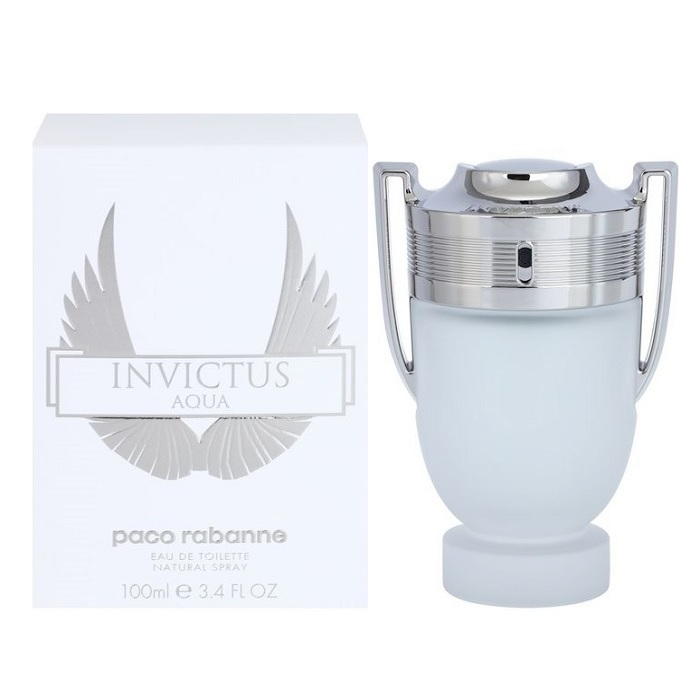 Invictus Aqua Cologne by Paco Rabanne 3.4oz Eau De Toilette spray for men