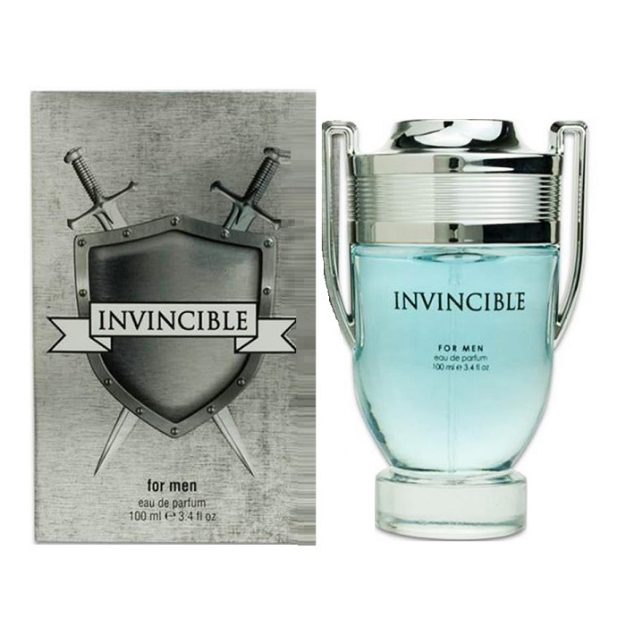 Invincible Cologne by New Brand 3.4oz Eau De Parfum spray for men