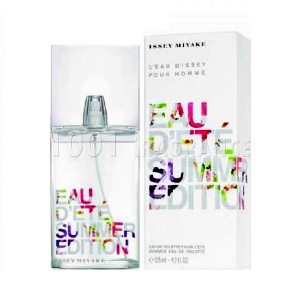 Issey Miyake Summer Fragrance Cologne by Issey Miyake 4.2oz Eau De Toilette spray for Men