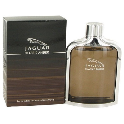 Jaguar Classic Amber Cologne by Jaguar 3.4oz Eau De Toilette spray for Men