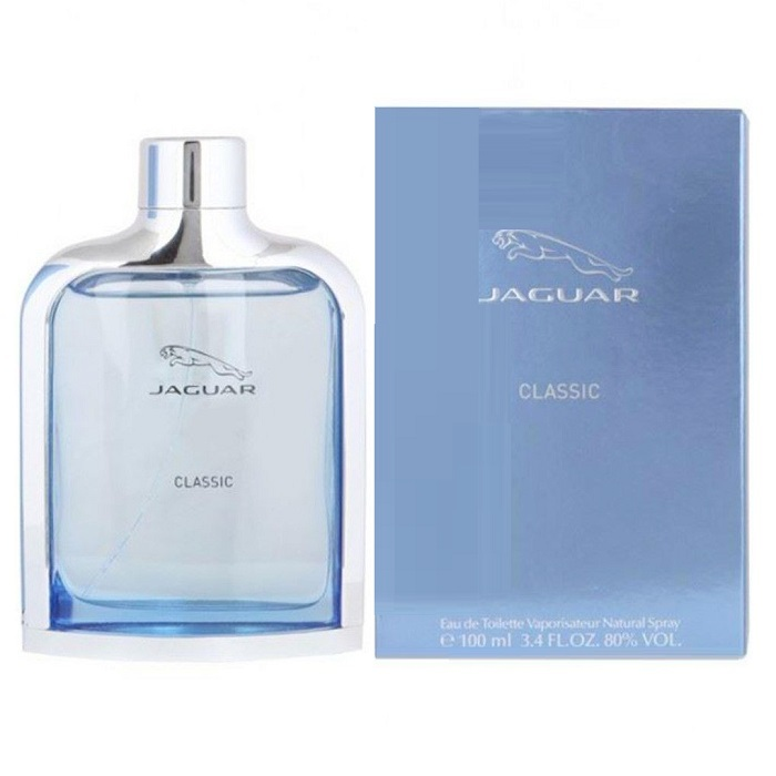 Jaguar Classic Cologne by Jaguar 3.4oz Eau De Toilette spray for men