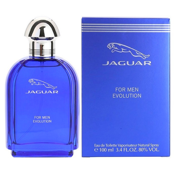 Jaguar Evolution Cologne by Jaguar 3.4oz Eau De Toilette spray for men