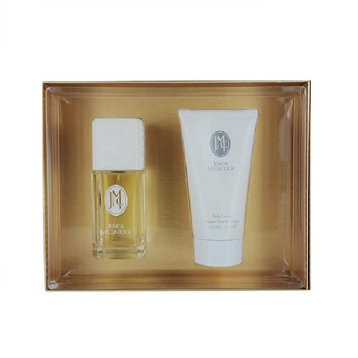 Jessica McClintock Perfume Gift Set - 3.4oz Eau De Parfum spray & 5.0oz Body Lotion
