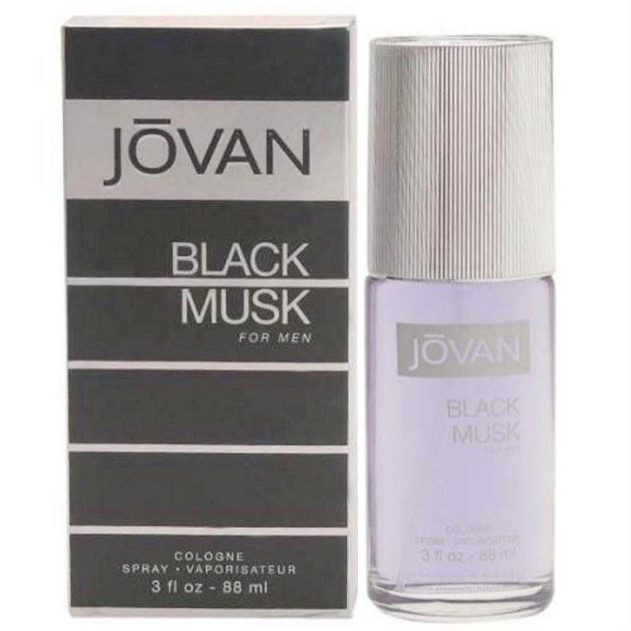 Jovan Black Musk Cologne by Jovan 3.0oz Cologne spray for men