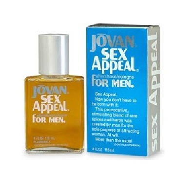 Jovan Sex Appeal Cologne by Jovan 3.0oz Eau De Cologne spray for Men