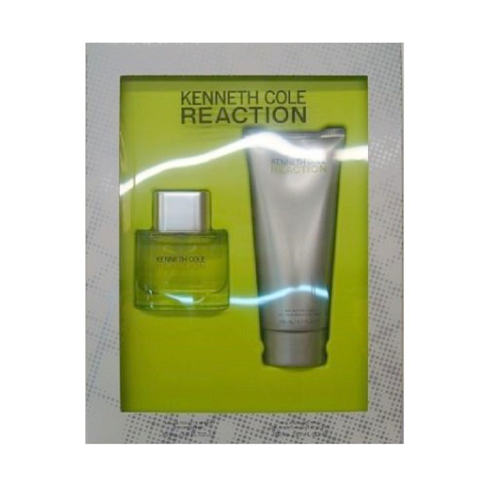 Kenneth Cole Reaction Gift Set for men - 1.7oz Eau De Toilette spray, & 6.7oz Hair & Body Wash / Gel
