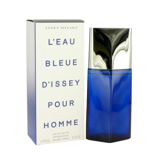 L'eau Bleue D'issey Pour Homme Cologne by Issey Miyake 4.2oz Eau De Toilette spray for Men