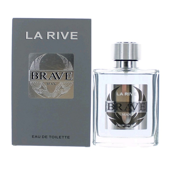 La Rive Brave Cologne by La Rive 3.4oz Eau De Toilette spray for men