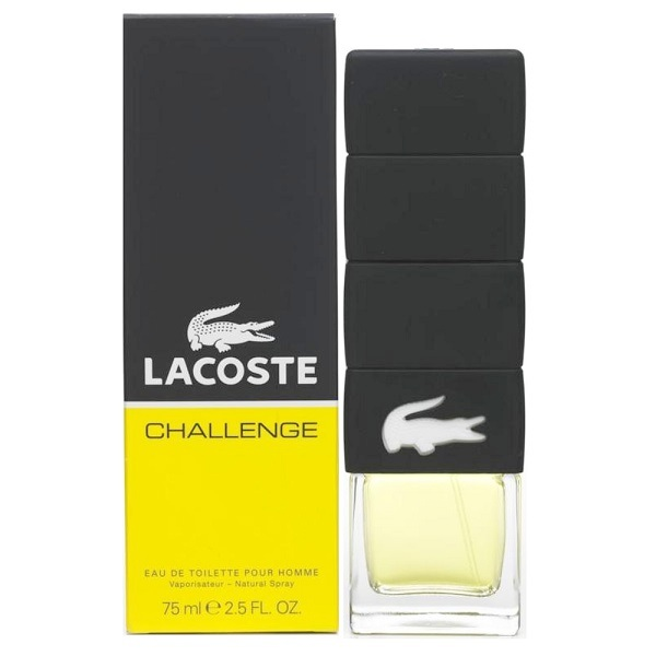 Lacoste Challenge Cologne by Lacoste 2.5oz Eau De Toilette spray for Men