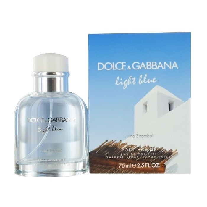 Light Blue Living Stromboli Cologne by Dolce & Gabbana 2.5oz Eau De Toilette spray for Men