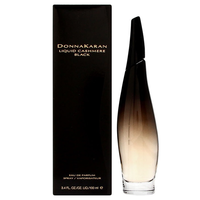 Liquid Cashmere Black Perfume by Donna Karan 3.4oz Eau De Parfum spray for women