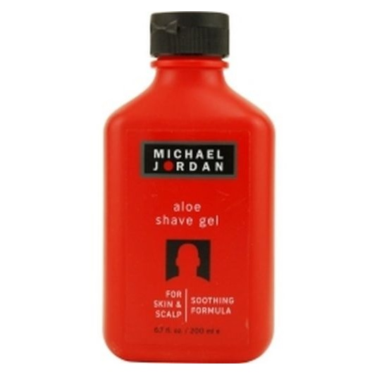 Michael Jordan Aloe Shave Gel for Skin & Scalp 6.7 oz / 200 ml Smoothing Formula
