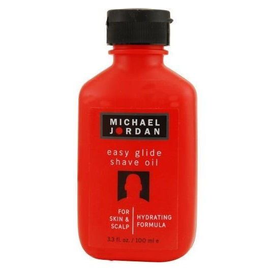 Michael Jordan Easy Glide Shave Oil 3.3 oz / 100 ml For Skin & Scalp