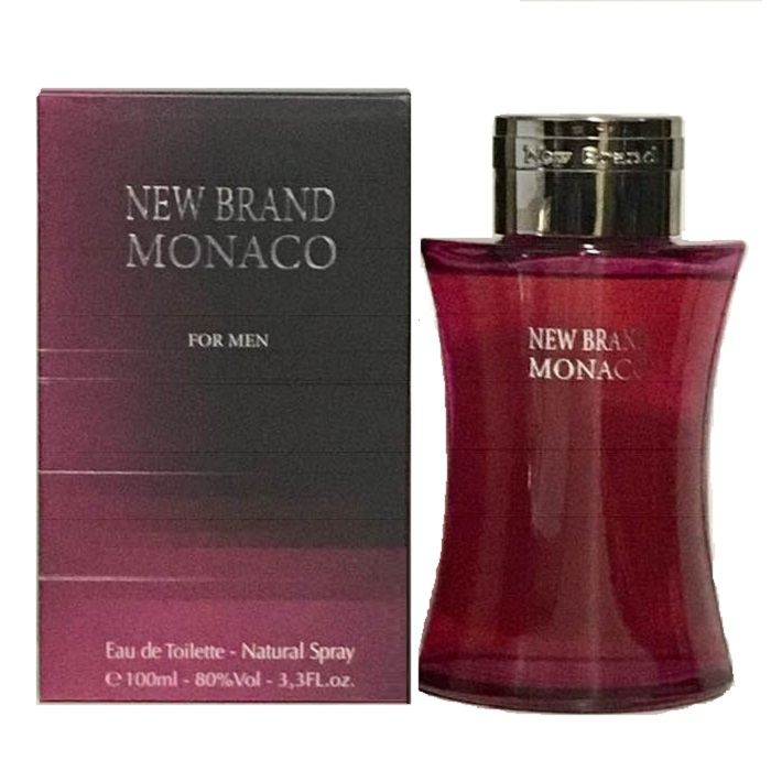 New Brand Monaco Cologne by New Brand 3.3oz Eau De Toilette Spray for men