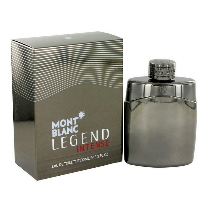 Mont Blanc Legend Intense Cologne by Mont Blanc 3.3oz Eau De Toilette Spray for men
