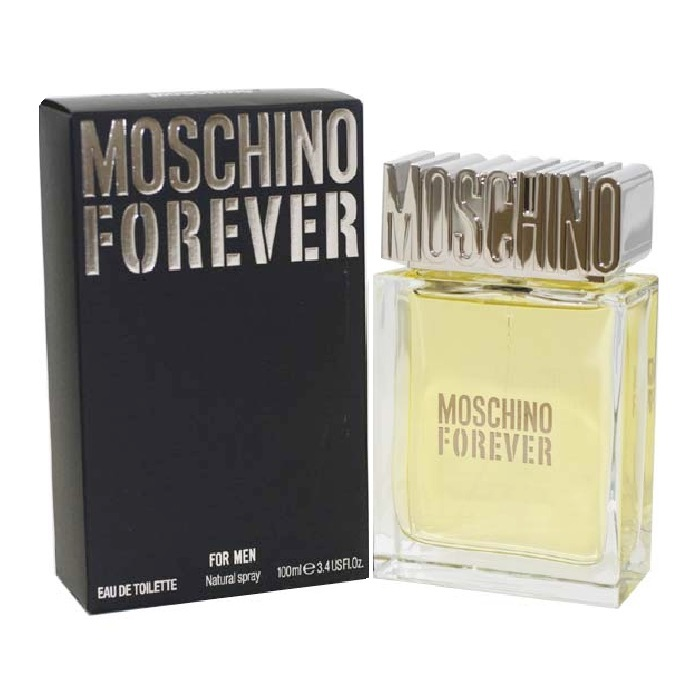 Moschino Forever Cologne by Moschino 3.4oz Eau De Toilette spray for Men
