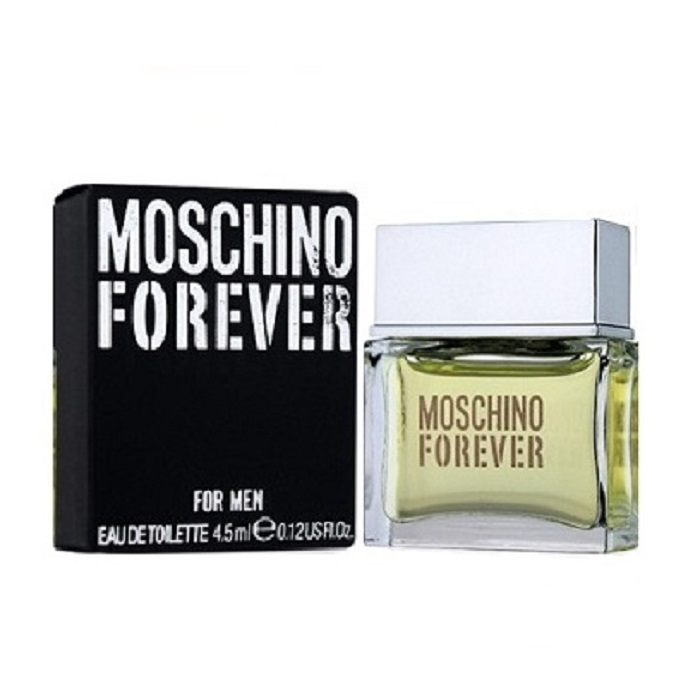 Moschino Forever Mini Cologne by Moschino 0.12oz / 4.5ml Eau De Toilette for Men