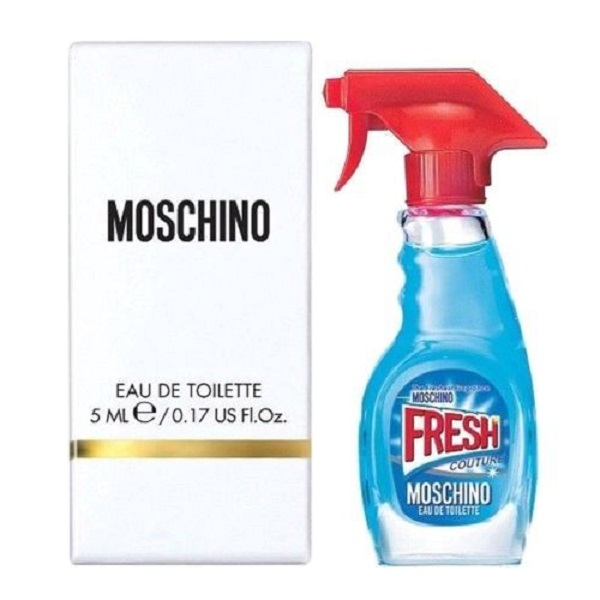 Moschino Fresh Couture Mini Perfume by Moschino 0.17oz / 5ml Eau De Toilette spray for women