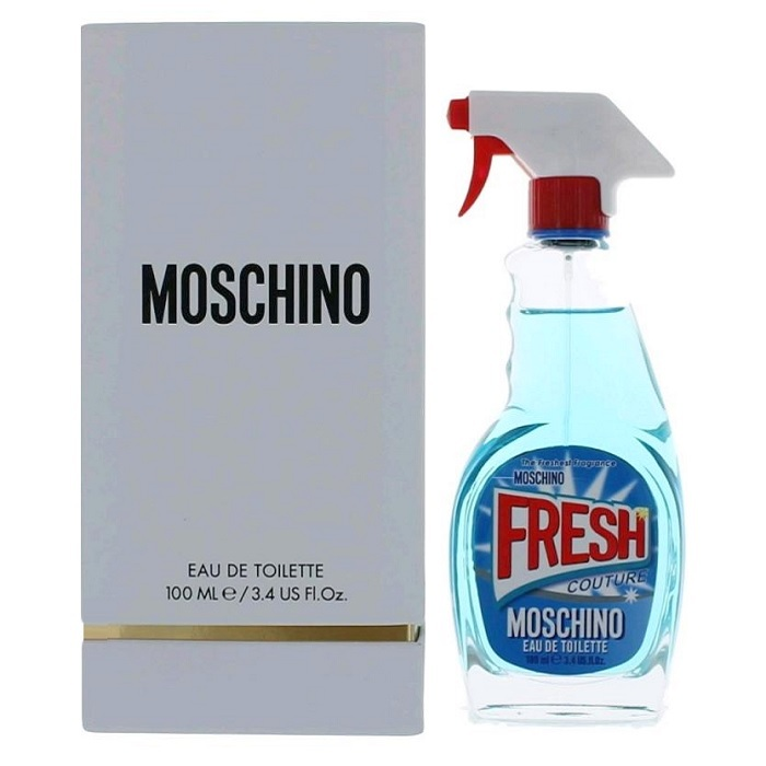 Moschino Fresh Couture Perfume by Moschino 3.4oz Eau De Toilette spray for women