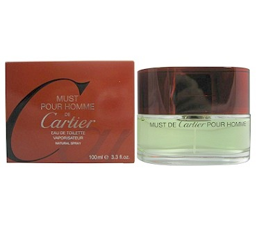 Must pour homme Cologne by Cartier 3.4oz Eau De Toilette spray for Men