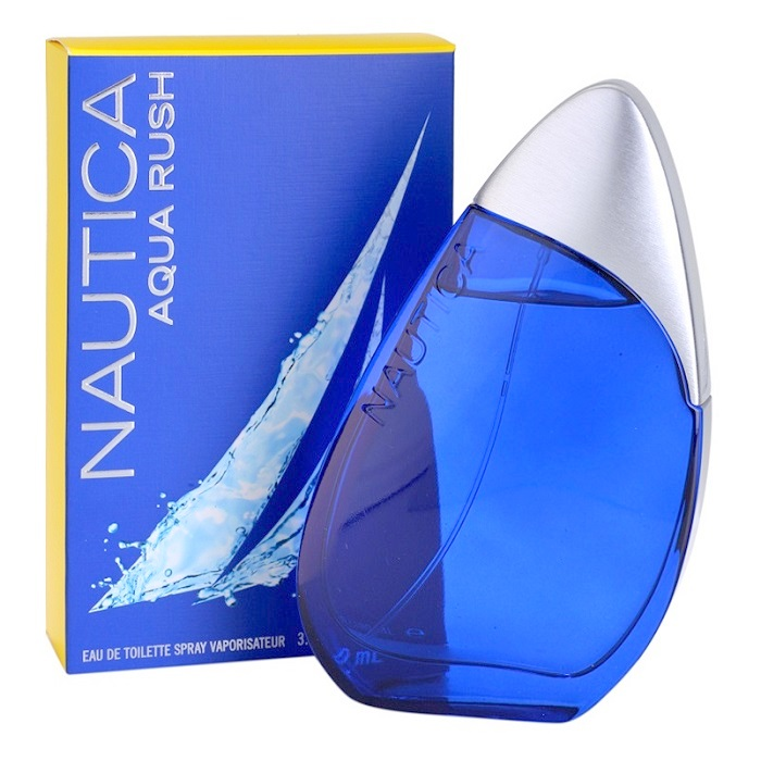 Nautica Aqua Rush Cologne by Nautica 3.4oz Eau De Toilette spray for men