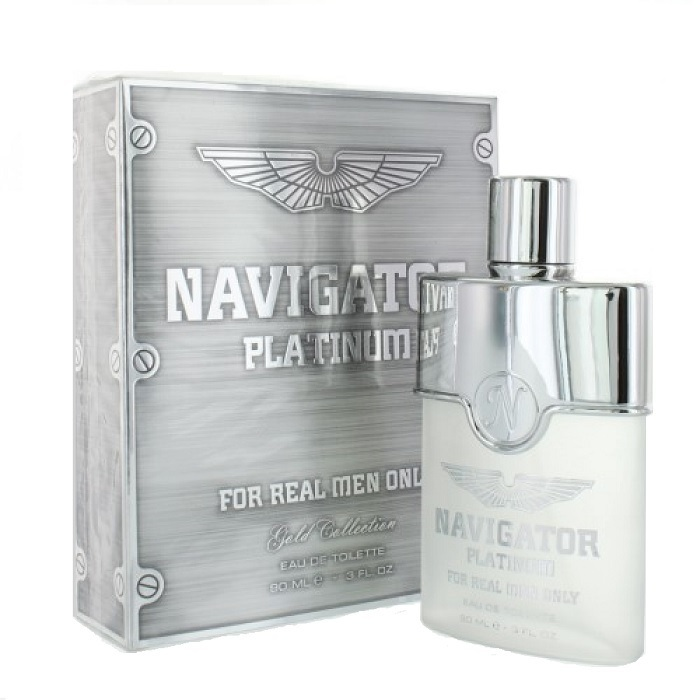 Navigator Platinum Cologne by Etoile Parfums 3.0oz Eau De Toilette Spray for men
