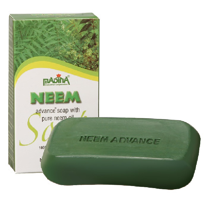 Neem Advance Soap 4.4oz - Pack of 6 pieces