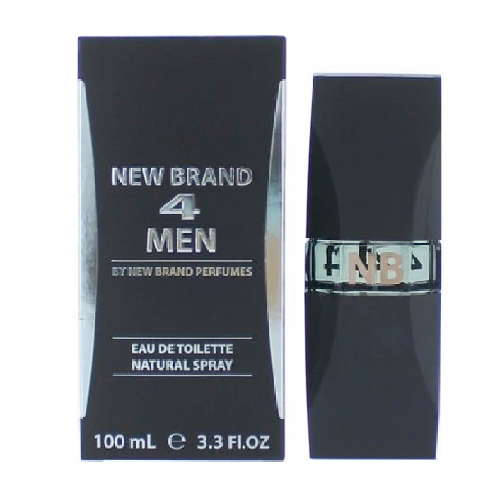 New Brand 4 Men Cologne by New Brand 3.3oz Eau De Toilette spray for men