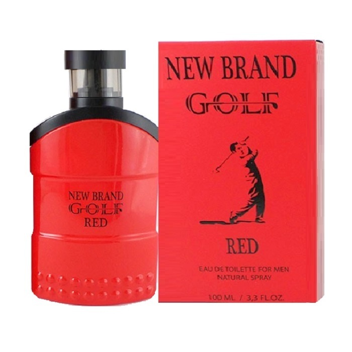 New Brand Golf Red Cologne by New Brand 3.3oz Eau De Toilette spray for men