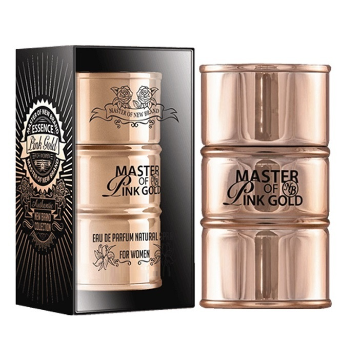 New Brand Master of Pink Gold Perfume