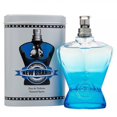 New Brand World Champion Blue Cologne