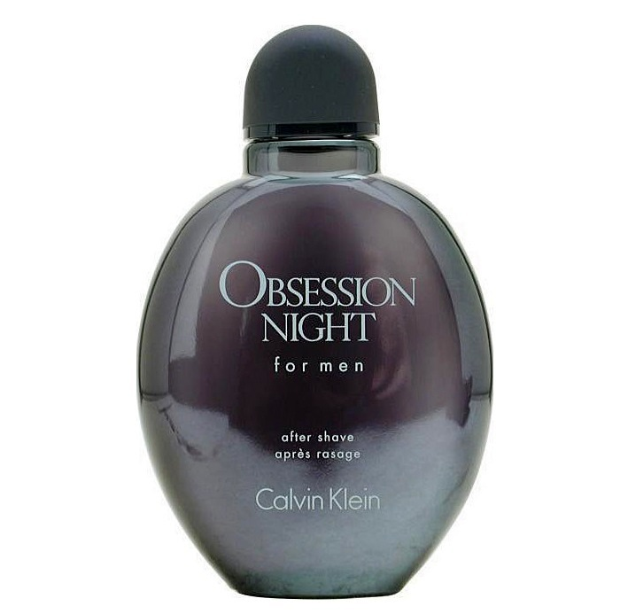Obsession Night After Shave Lotion (liquid) by Calvin Klein 4.0oz for men (unbox)