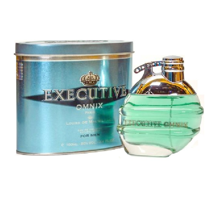 Omnix Executive Cologne by Louise De Maurillac 3.4oz Eau De Toilette spray for men