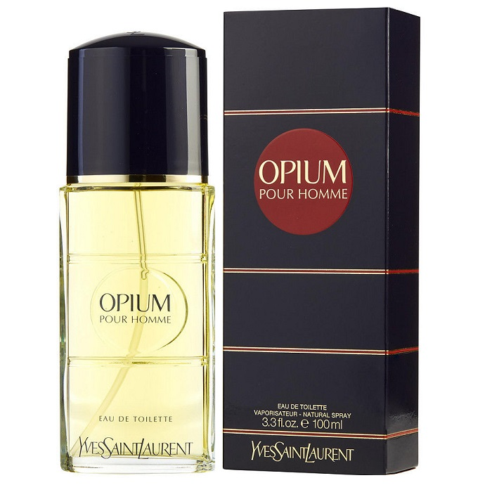 Opium Cologne by Yves Saint Laurent 3.3oz Eau De Toilette spray for men