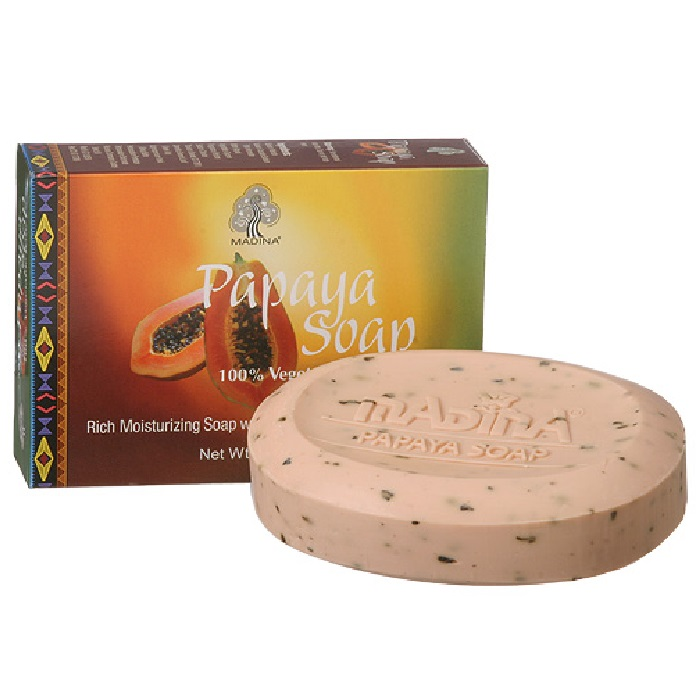 Papaya Soap - Pack of 6 pieces