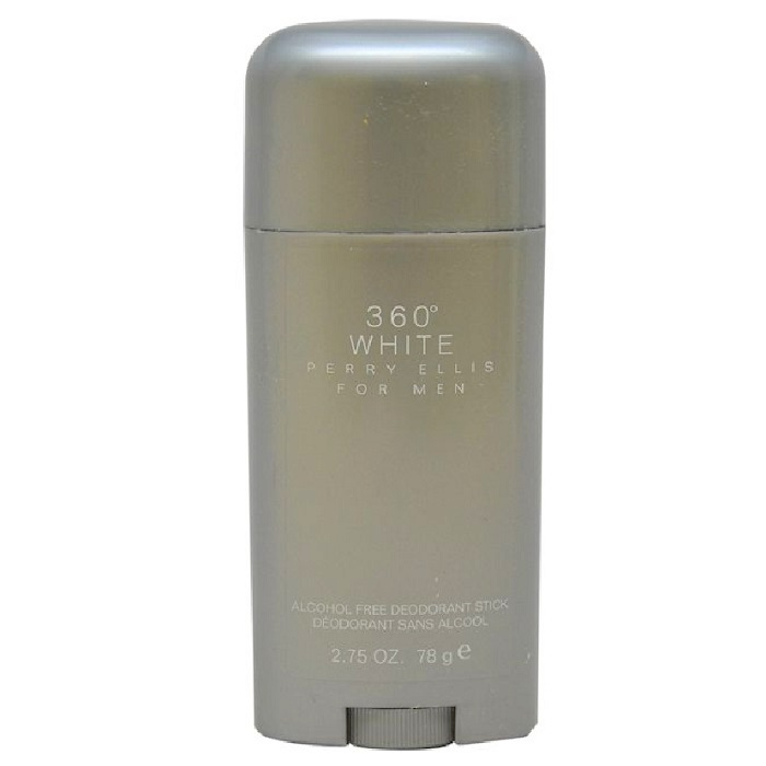 Perry Ellis 360 White Deodorant Stick by Perry Ellis 2.7oz for Men