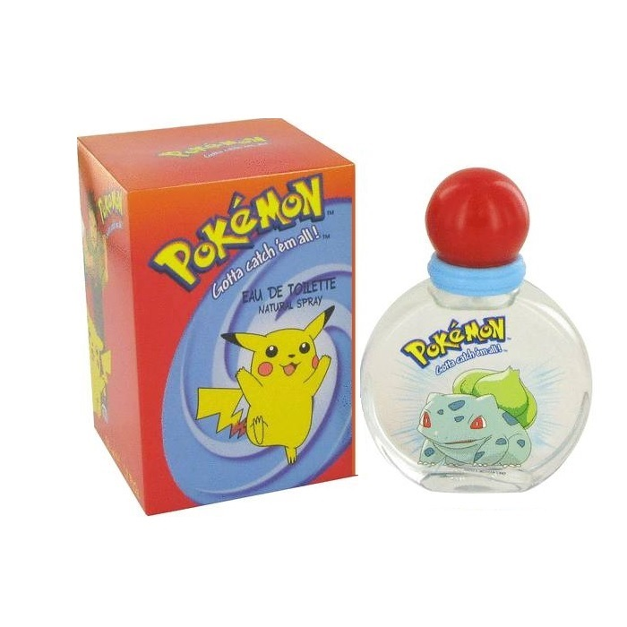 Pokemon Cologne by Disney 3.4oz Eau De Toilette spray for Men