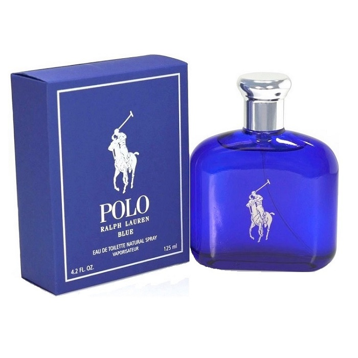 Polo Blue Cologne by Ralph Lauren 4.2oz Eau De Toilette spray for men