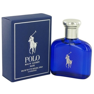Polo Blue Cologne by Ralph Lauren 1.36oz Eau De Toilette spray for Men