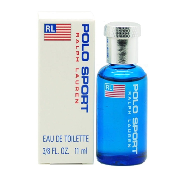 Polo Sport Mini Cologne by Ralph Lauren 3/8oz / 11ml Eau De Toilette for Men